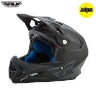 Fly 2017 Bike Werx Mips Rival Adult Helmet (Matte Black/Coal)